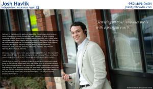Josh Havlik's Insurance Website