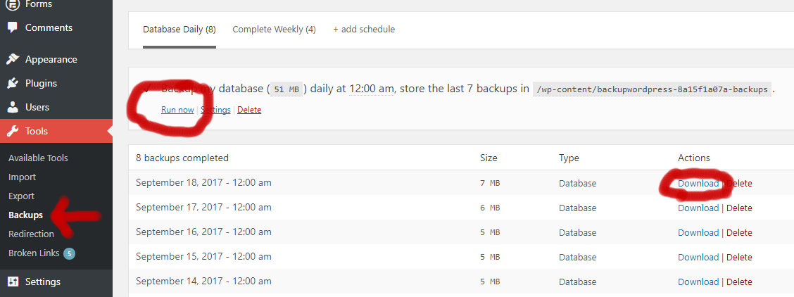 How to Import and Export a Wordpress Database with Godaddy Properly