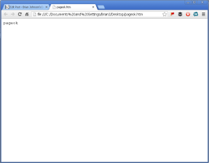 Pageok when trying to access by IP my GoDaddy hosted website